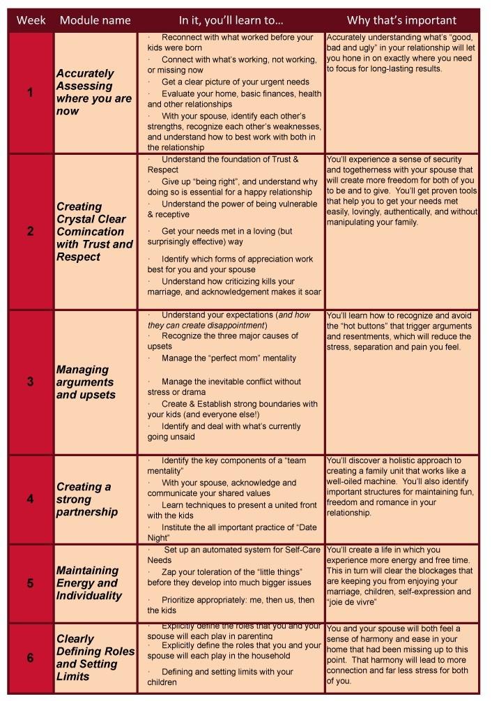 MRR Program content chart1